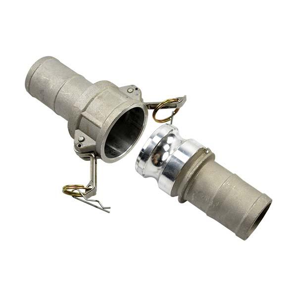 Aluminium camlock coupling type c
